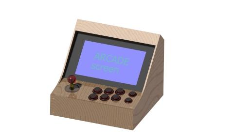 Mini Arcade For Raspberry Dream It Design It Make It